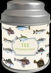 Sköna Ting Tee Geschmacksrichtung Zitronentarte in einer schönen Blechdose, 5 Teebeutel