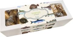 Sköna Ting Zitronen - Toffee / Karamell 200g in Pappschachtel mit Fischmotiven